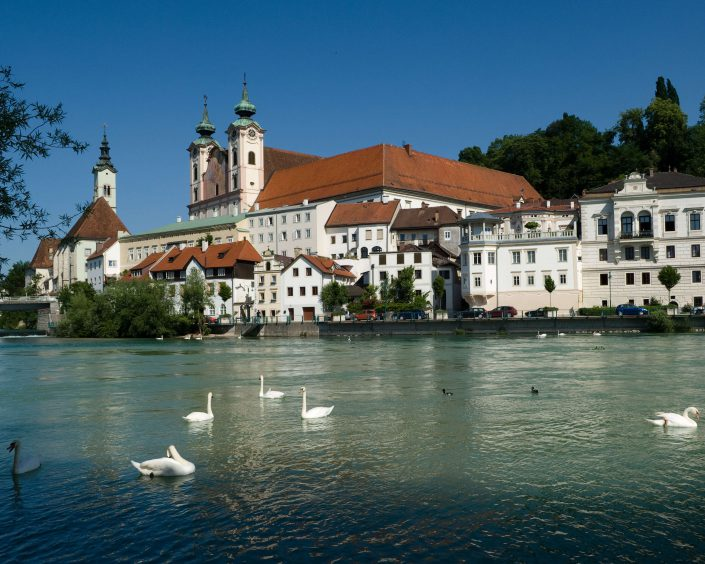 Steyr is located in the Austrian federal state of Upper Austria.